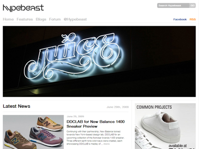 Hypebeast - Streetwear Fashion Blog
